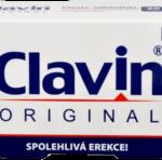 Clavin tabletky na podporu erekcie