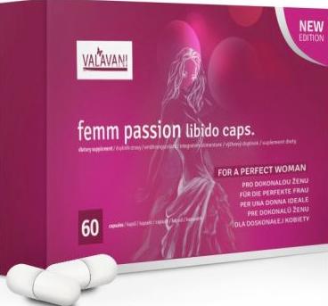 Femm Passion tabletky na zvýšenie libida prírodné afrodiziaká
