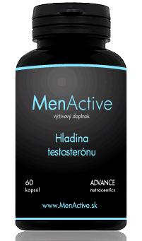 Menactive tabletky na podporu testosterónu