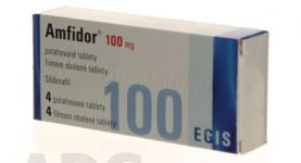 Amfidor liek na erektilnú dysfunkciu cena nežiaduce účinky kde kúpiť